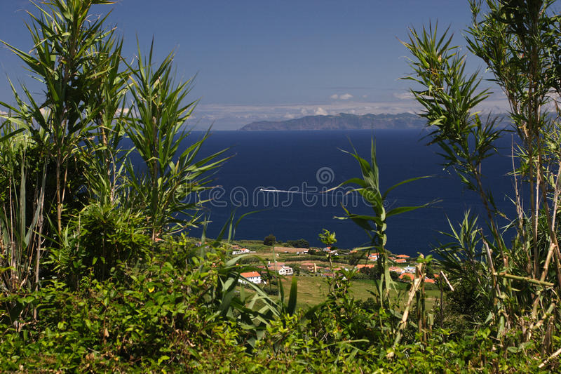 Download Village on atlantic coast stock image. Image of panorama - 21894087