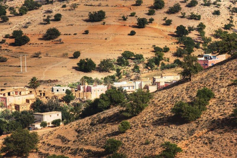 Village au Maroc image stock