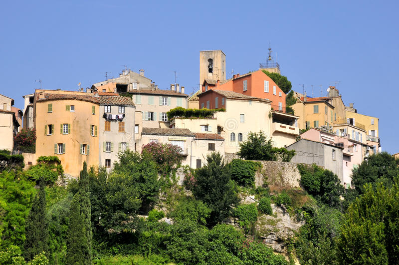 Download Village of Biot in France stock image. Image of church - 11654077