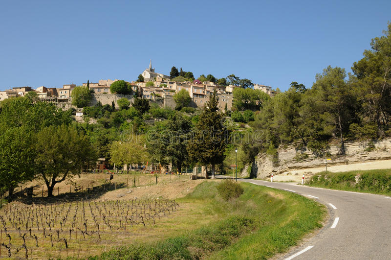 Download Village Of Bonnieux In Provence Stock Image - Image: 30368515