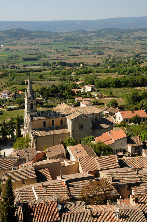 Download Village Of Bonnieux In Provence Stock Photo - Image: 30368614