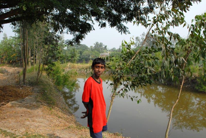 Village Boy stock photos