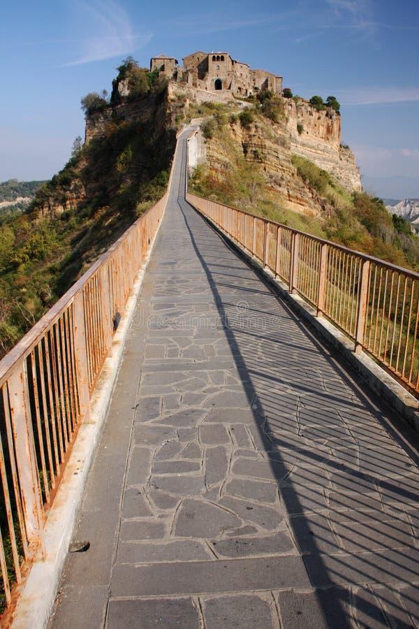 Download Village bridge stock photo. Image of hill, bagnoregio - 22186446