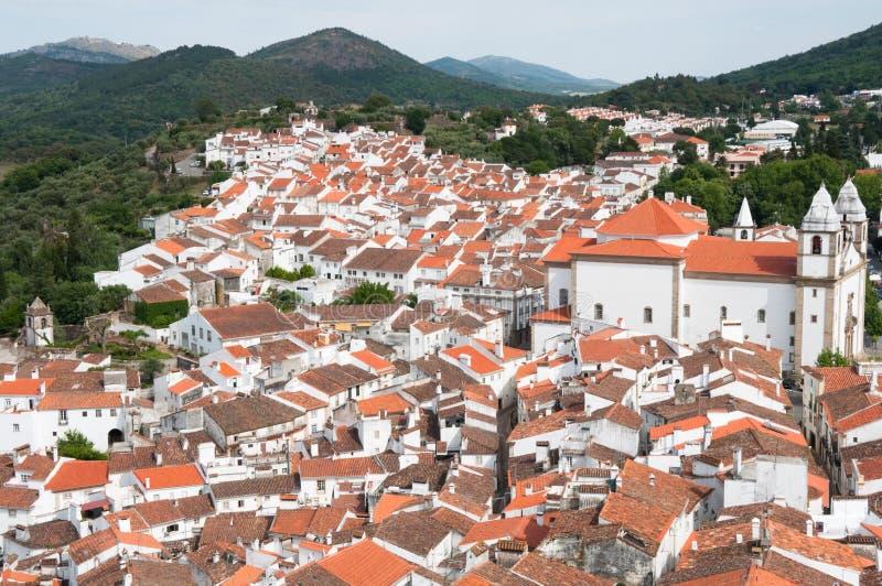 Village Of Castelo De Vide, Portugal Stock Photo - Image of castelo ...
