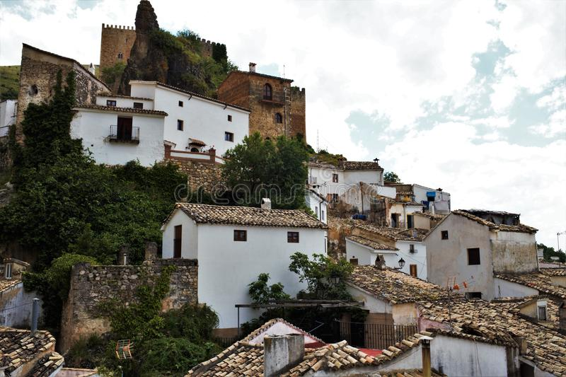 Village of Cazorla in Jaen Andalusia royalty free stock photography