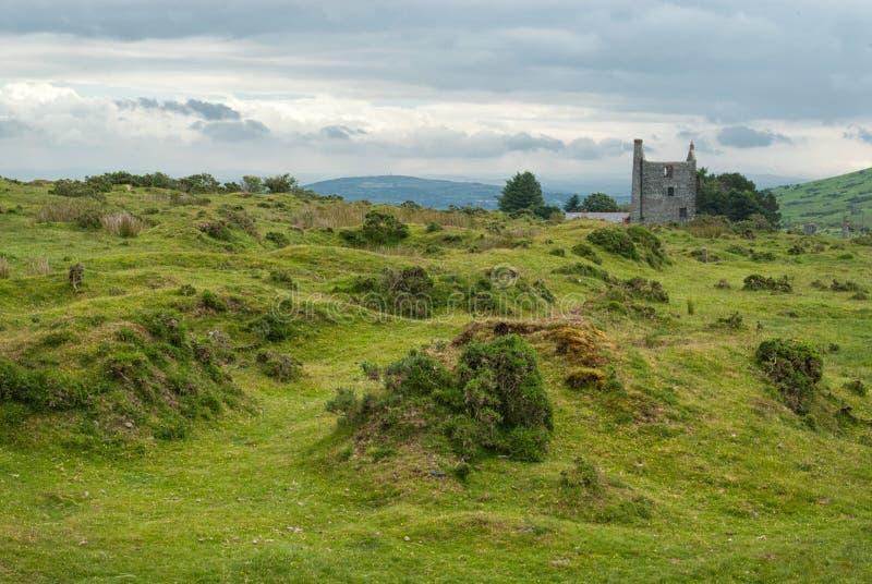 Village celtique photographie stock