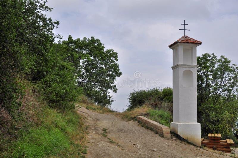 Village chapel royalty free stock image
