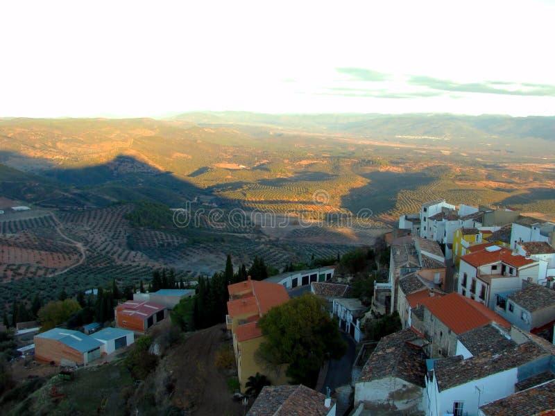 Village of Chiclana de Segura in Jaen royalty free stock image