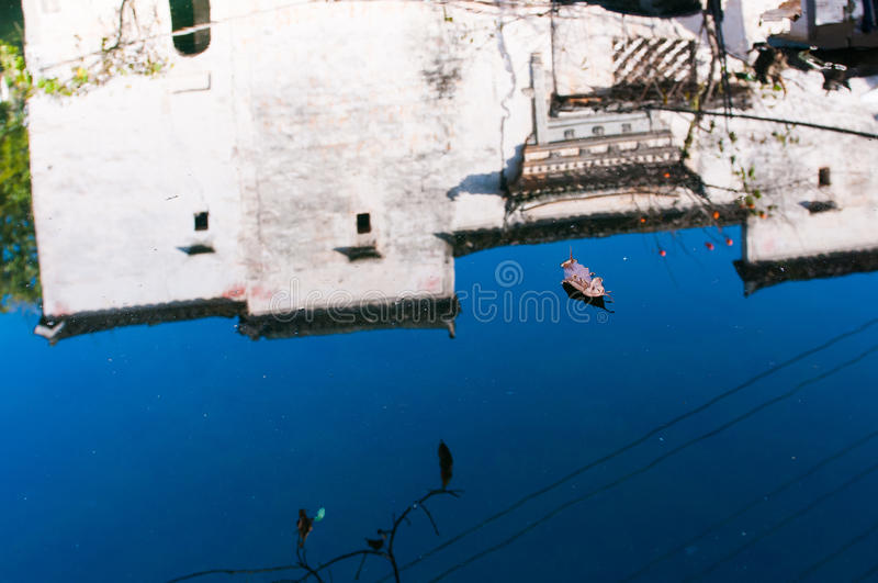 Village chinois image stock
