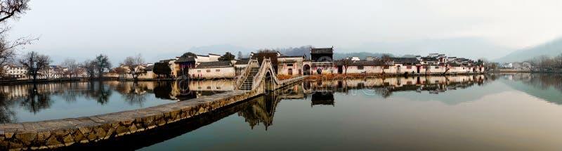 Village chinois antique images libres de droits