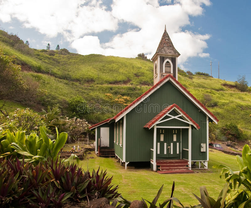 Download The Village Church stock photo. Image of religion, hawaii - 14915796