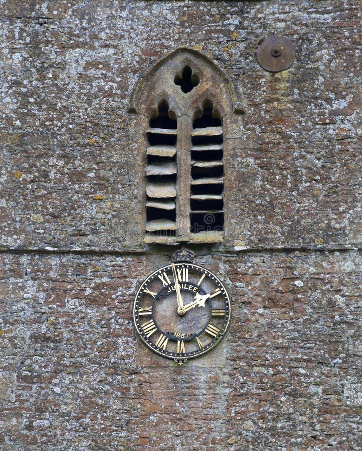 Download Village church clock stock photo. Image of clock, england - 35290180