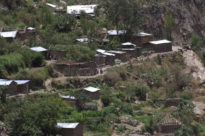 Village in the Colca Canyon