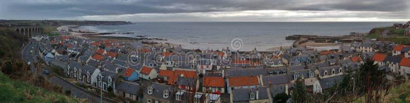Village of Cullen, Moray Coast, Scotland royalty free stock photos