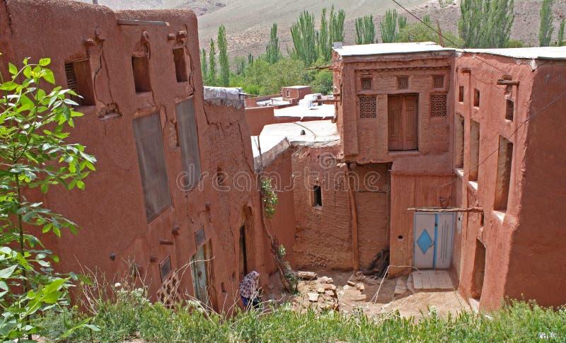 Village d'Abyaneh image libre de droits