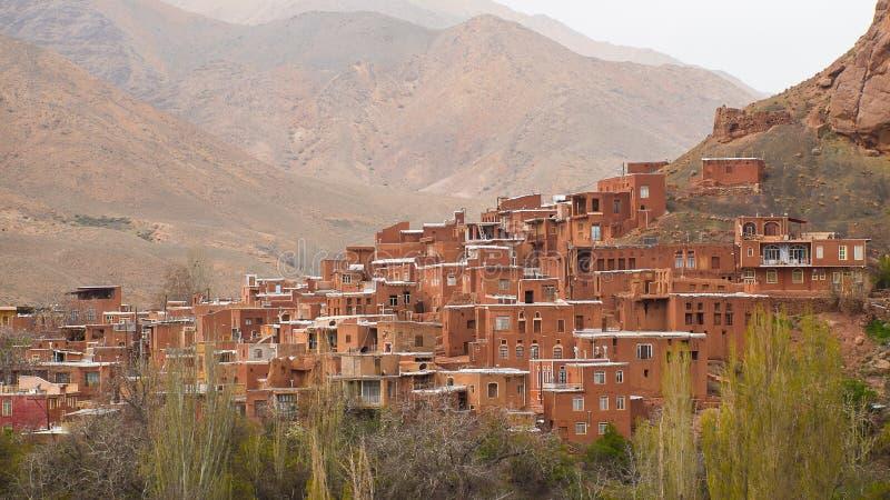 Village d'Abyaneh, Iran photographie stock