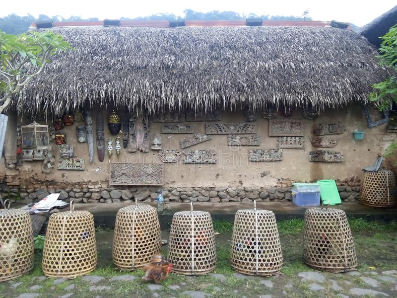 Village d'aga de Bali photo libre de droits