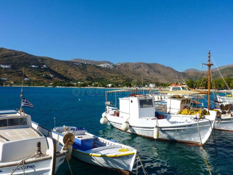 Download Village d'Aigiali image stock éditorial. Image du honeymoon - 56488069