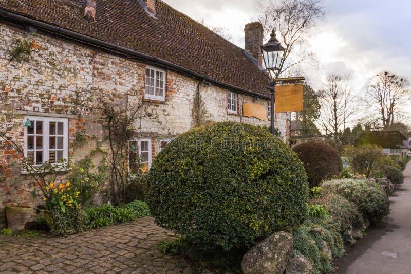 Village d'Avebury image libre de droits