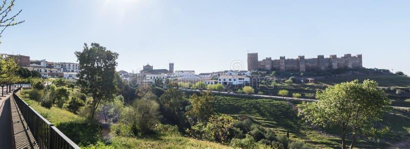 Village d'encina de La de Baños De, province de Jaen, Espagne photographie stock libre de droits