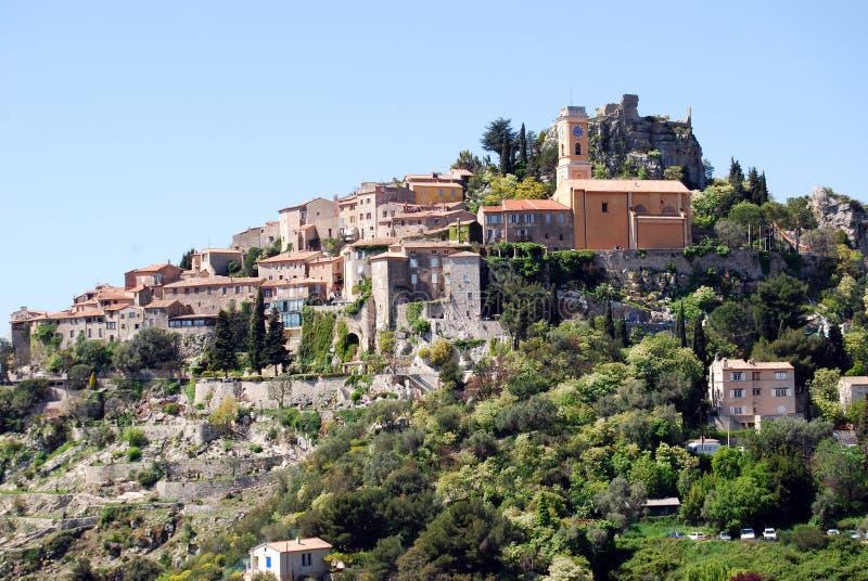 Village d'Eze image stock