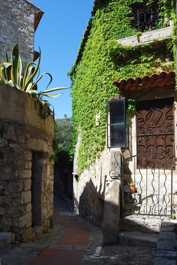 Village d'Eze photo libre de droits
