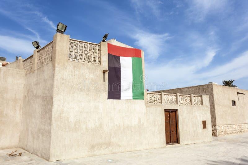 Village d'héritage de Dubaï photographie stock libre de droits