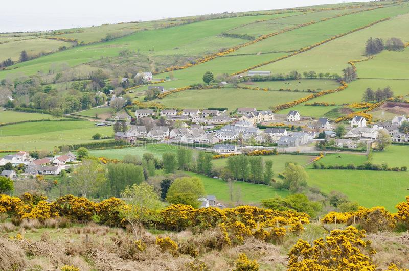 Village d'Ulster image stock