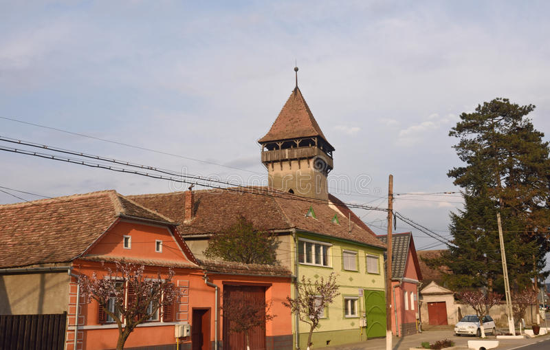 Village of Danes in Romania royalty free stock image