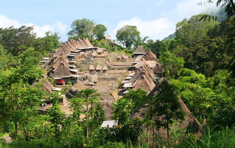 village de bena photo stock
