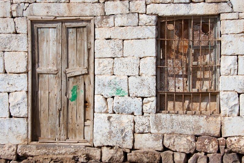 Village de Bosra images stock