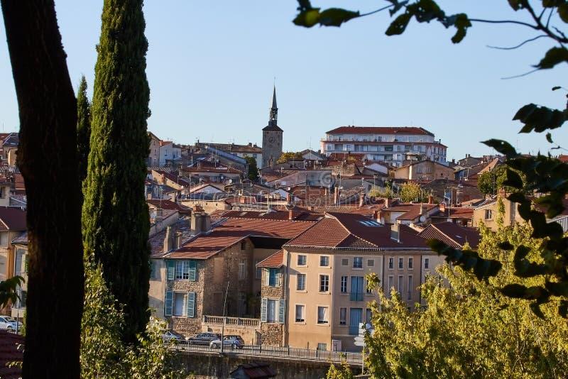 Village de Bourg de Peage, France images libres de droits