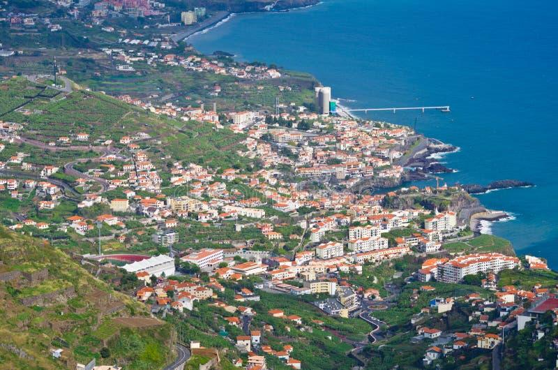 Village de Camara de Lobos - île de la Madère, Portugal photos stock