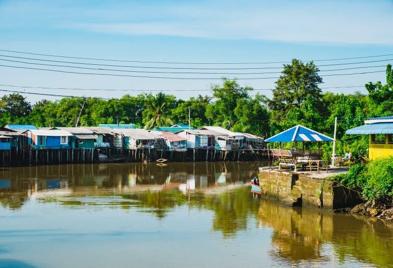 Village de canal photos stock