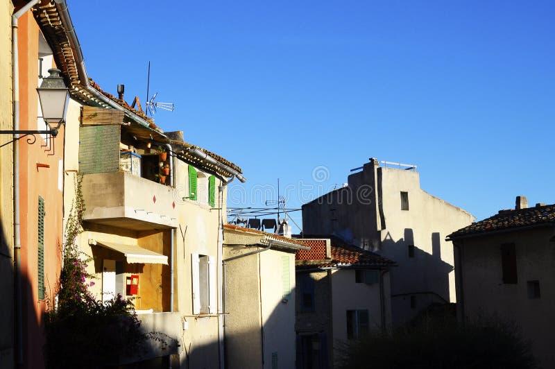 Village de Castellet, France du sud image libre de droits