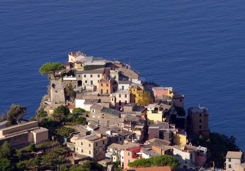 Village en mer images libres de droits
