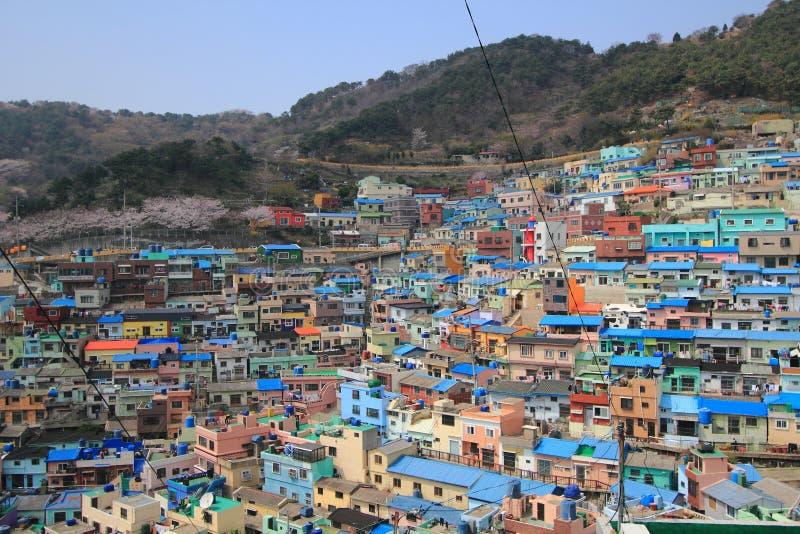 Village de culture de Gamcheondong photos stock