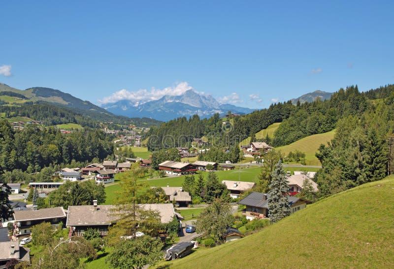 Fieberbrunn, le Tirol, Autriche photo libre de droits