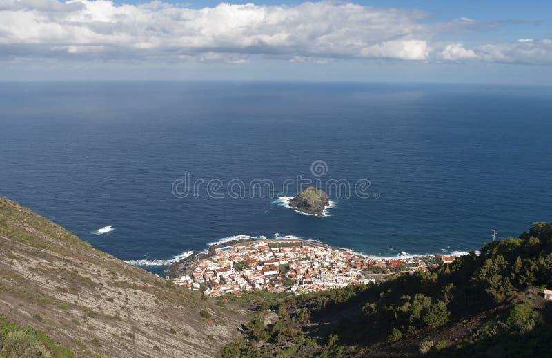 Village de Garachico, Ténérife, Îles Canaries, Espagne photo libre de droits