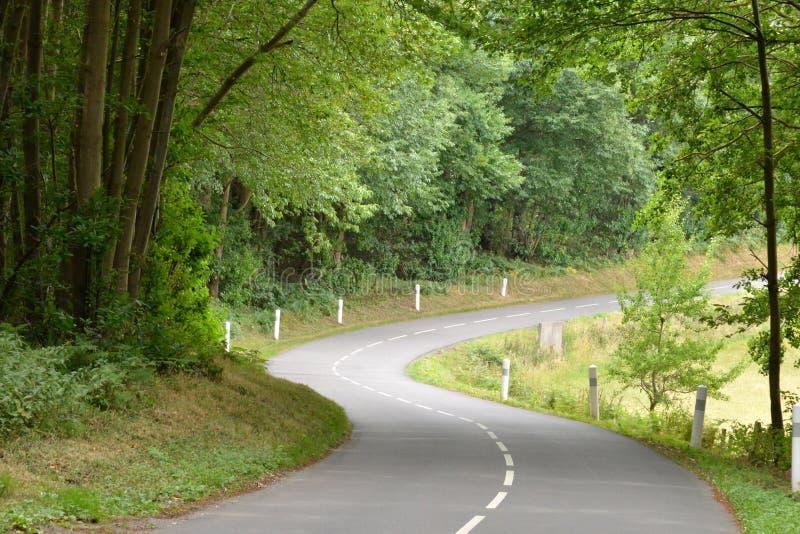 Village de Joli de dit de Wy, France - 8 août 2015 : forêt photos libres de droits