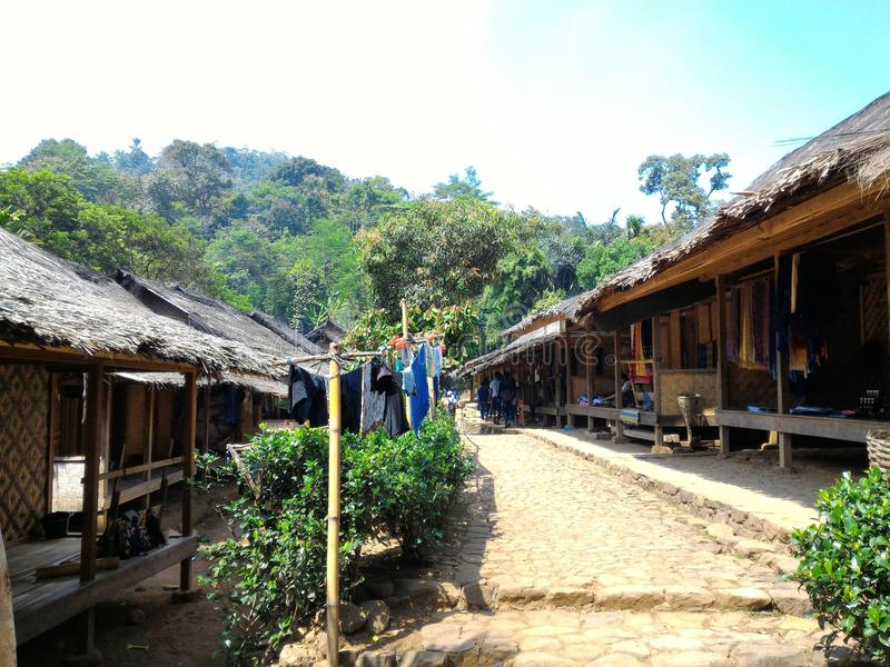 Village de Kenekes image libre de droits
