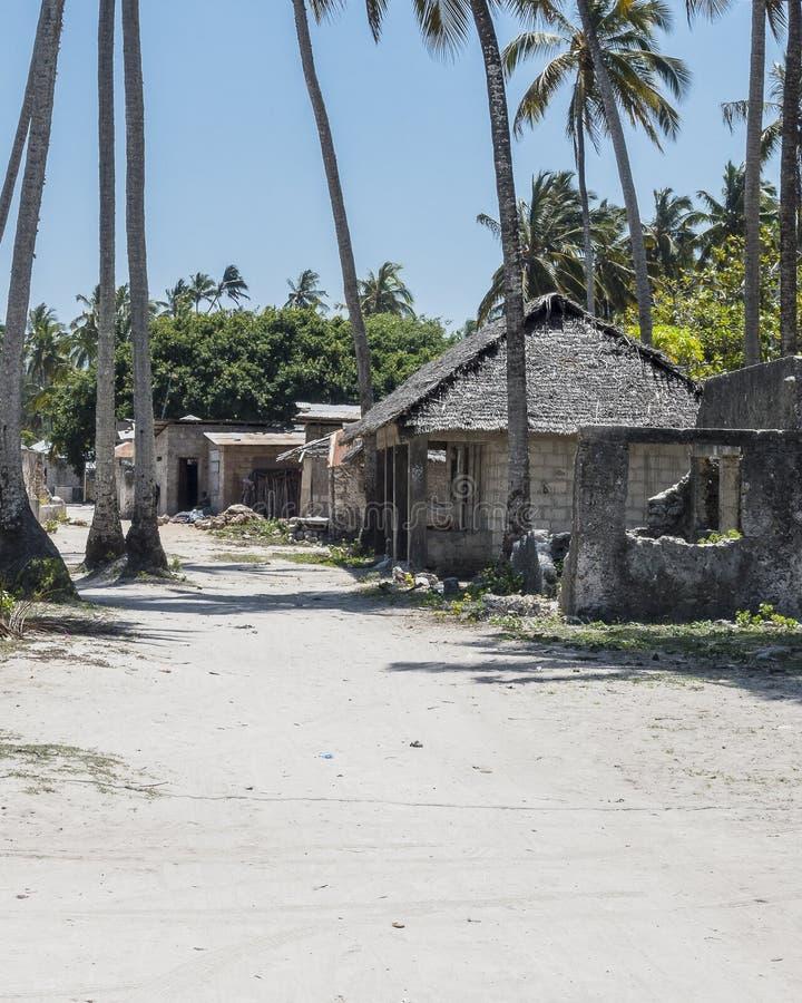 Village de Kiwenga photographie stock libre de droits