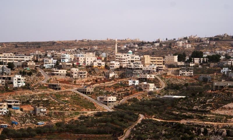 village de la Palestine photographie stock