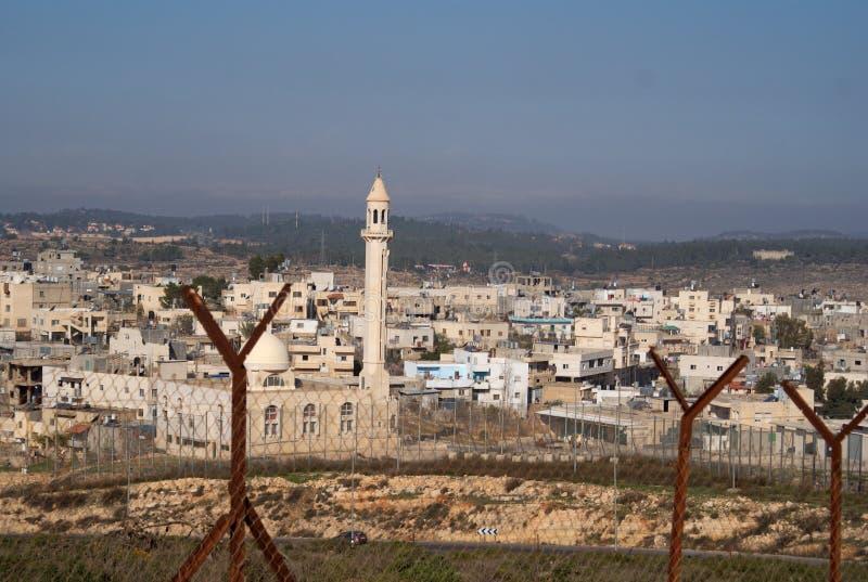 Village de la Palestine images libres de droits