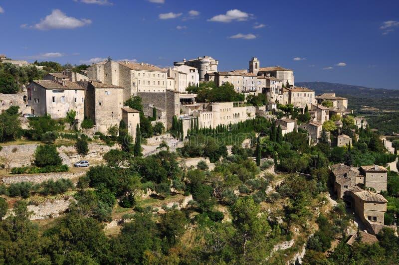 Village de la Provence images libres de droits