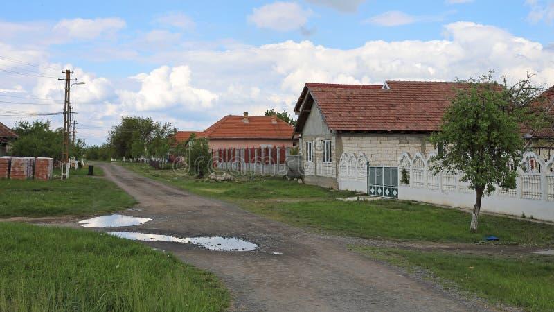 Village de la Roumanie photo stock