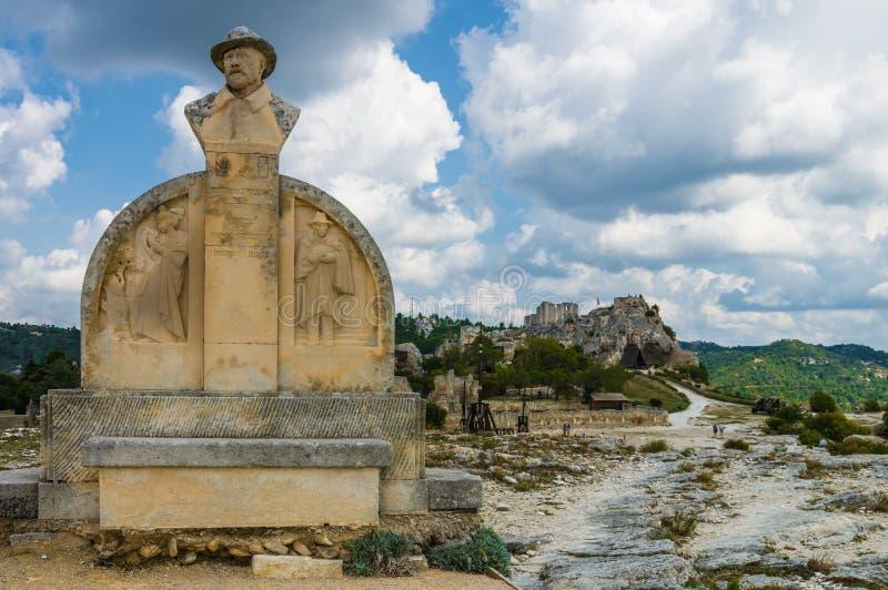 Village de Les Baux De Provence, France photographie stock libre de droits