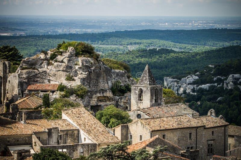 Village de Les Baux De Provence, France images libres de droits