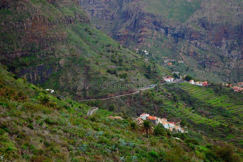 Village de Masca photo stock
