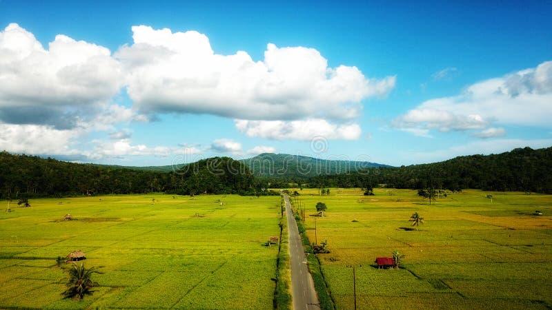 Village de Ndraso image libre de droits